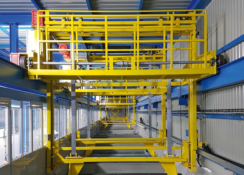 High Tech E-Coat-Unit at KSI environmental friendly, energy effecient and flexible in the applications