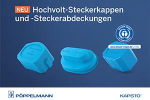 Hochvolt-Steckerkappen und -Steckerabdeckungen Pöppelmann Kapsto