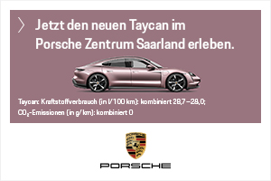 Jetzt den neuen Taycan im Porsche Zentrum Saarland erleben