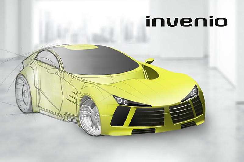Von Skizzen bis zum Fräsen – Designstudien in der Automobilindustrie.  Die Synergie von 'Mensch und Maschine' formt das Auto der Zukunft