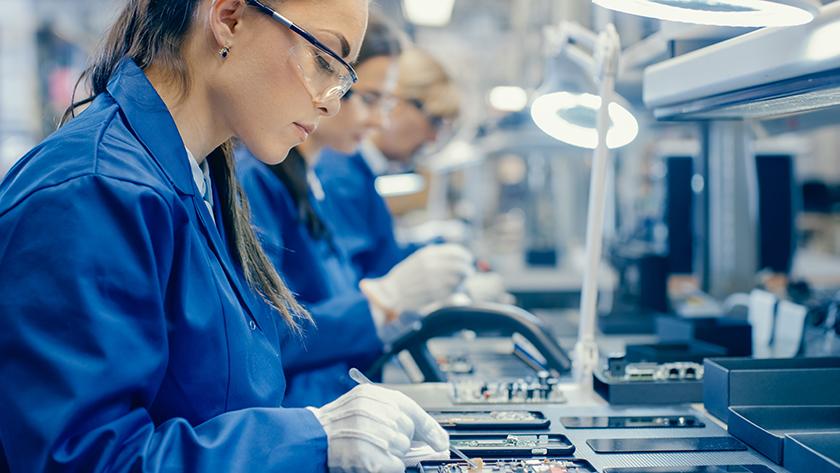 Einer neuen Studie zufolge ist Prozessoptimierung der Erfolgsschlüssel für branchenführende Hersteller