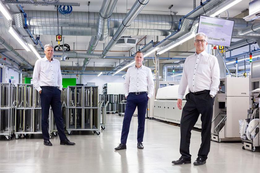 Erweiterte Produktionskapazitäten und Kompetenzen!