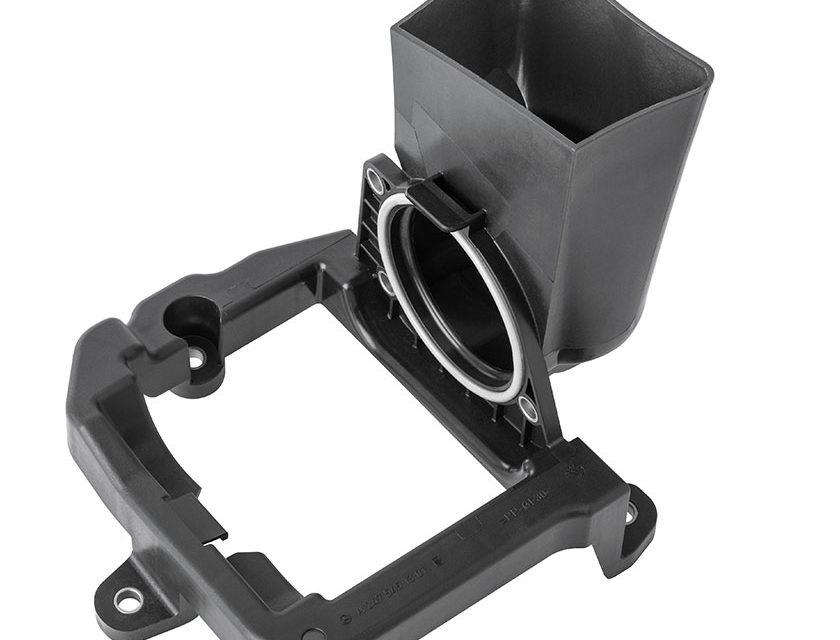 Echte Kreislaufkonzepte für die Automobilindustrie: Halter Soundgenerator aus PCR von Pöppelmann K-TECH®
