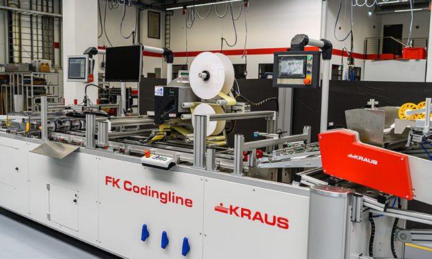 """Fahrzeugfilter codieren – Kraus Maschinenbau nutzt Kennzeichnungstechnik von Bluhm Systeme in """"FK Codingline"""""""